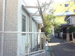 東京都目黒区 I様邸 サイクルポート新設工事