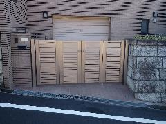 川崎市 O様邸 駐車場ゲート改修工事