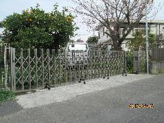 川崎市高津区 M様邸 駐車場ゲート改修工事