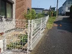 横浜市 S様邸 フェンス改修工事