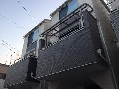 川崎市 R様邸 2Fテラス屋根工事