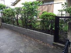 東京都杉並区 M様邸 ブロック フェンス改修工事