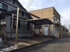 横浜市青葉区 K様邸 駐車場屋根新設工事