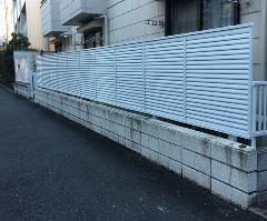 川崎市高津区 ハイツF フェンス改修工事