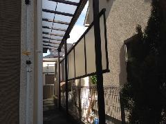 川崎市宮前区 H邸 1Fテラス屋根新設工事