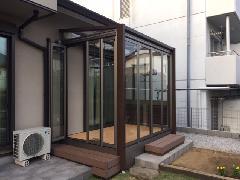 川崎市 多摩区 T邸 ガーデンルーム新設工事