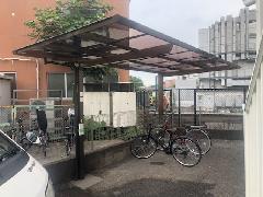 川崎市 Sコーポ サイクルポート新設工事