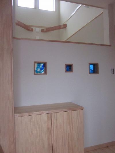 琉球ガラスブロック(山梨県)