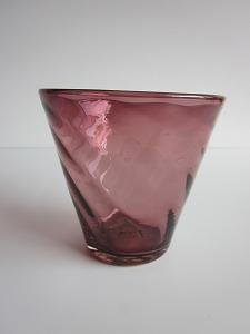 琉球グラス「ちゅらさんグラス」紫