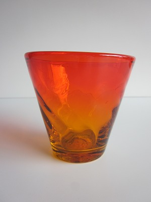 琉球グラス「ちゅらさんグラス」オレンジ