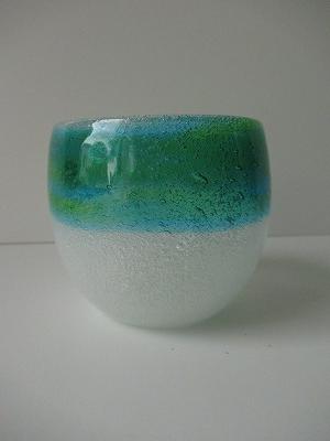 新商品!!琉球グラス「泡たるグラス」泡×緑水