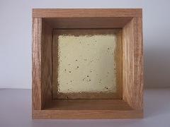 板ガラスブロック イエロー 15cm