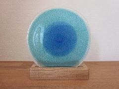 琉球飾りガラス(青&水&泡)