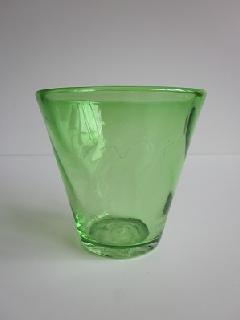 琉球グラス「ちゅらさんグラス」緑
