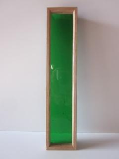 �Aガラス引手(琉球板ガラス)緑色