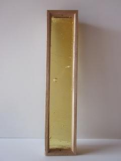 �Bガラス引手(琉球板ガラス)黄色