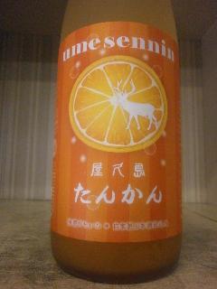 梅仙人 たんかん梅酒 1.8L