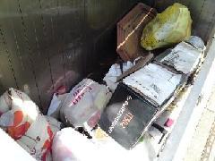 ゴミ置き場・収集BOXの悪臭除去と片付け事例