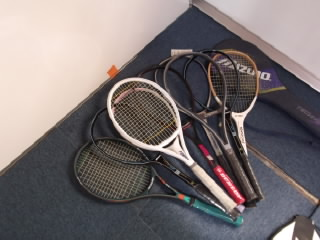新品テニスラケット9本セット