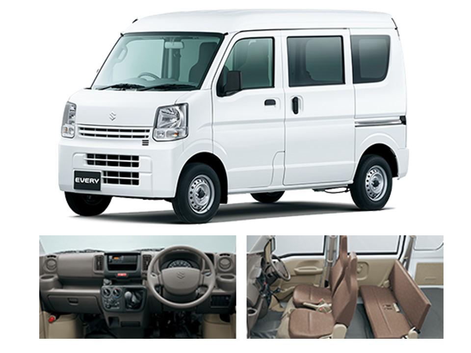 新車1万円リース・軽リースフラット7 大阪地区限定特別価格車 軽自動車リースならエブリィ8.640円