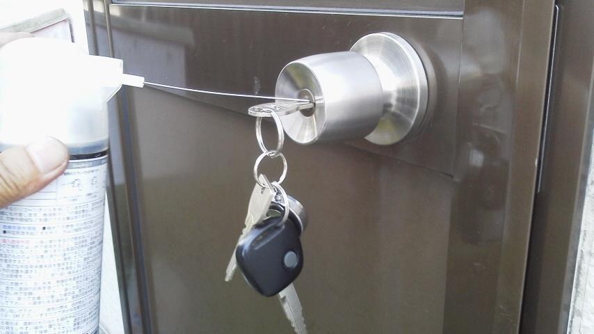 家の鍵の場合