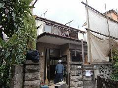 東京都 三鷹市木造一戸建て 25坪 運び出し