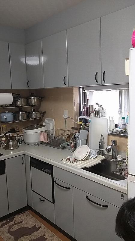 キッチン取替