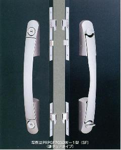 鎌デッドプッシュプル錠