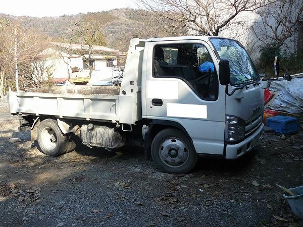 ゴミ屋敷片づけする時のトラック