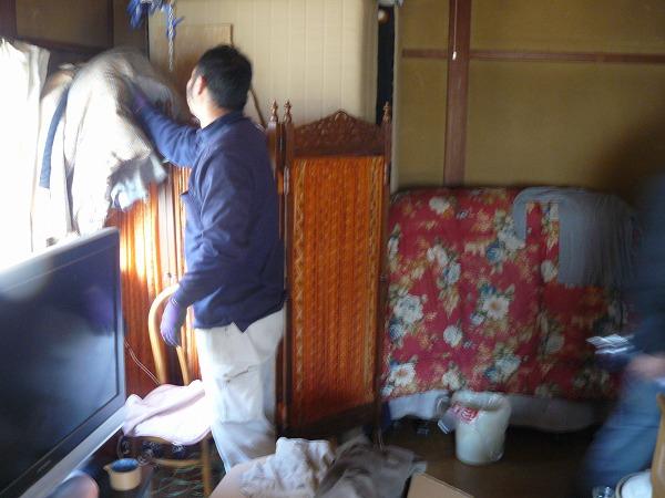 神奈川県綾瀬市の冬王品回収作業