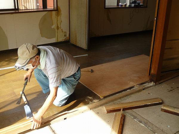 床材張替え