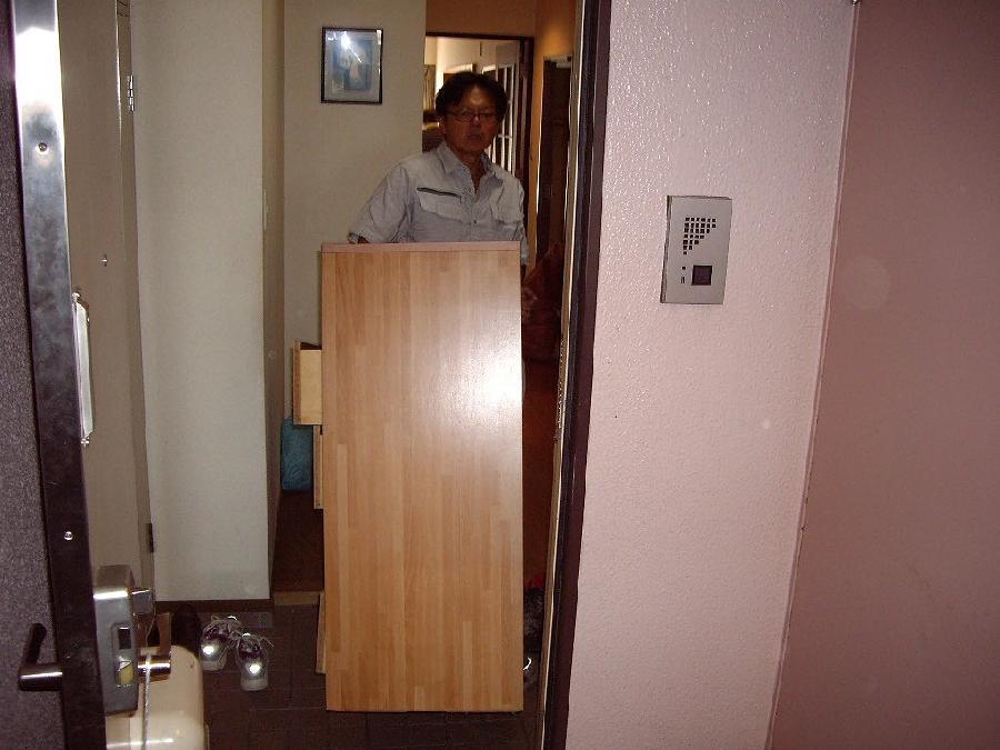 重たい家具整理