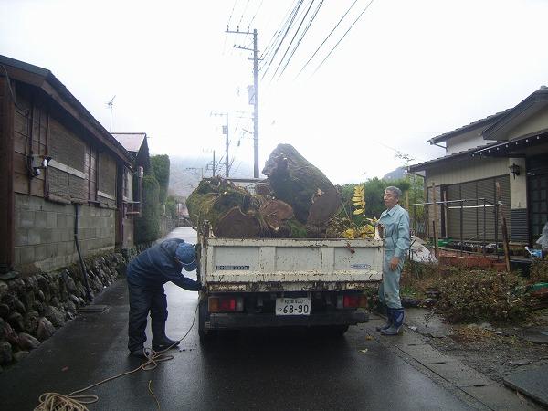 切った木の処分