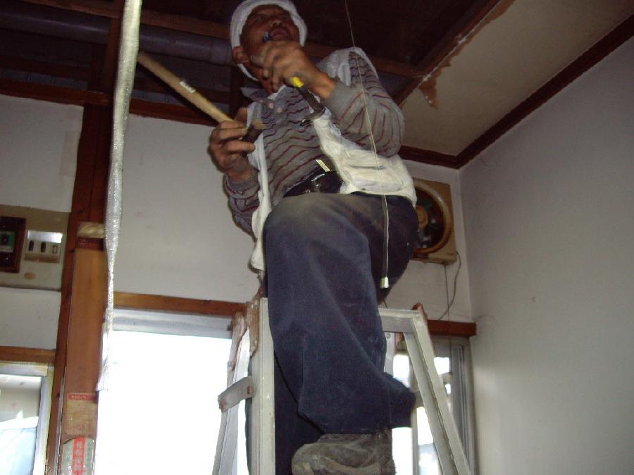 天井特別清掃リフォーム