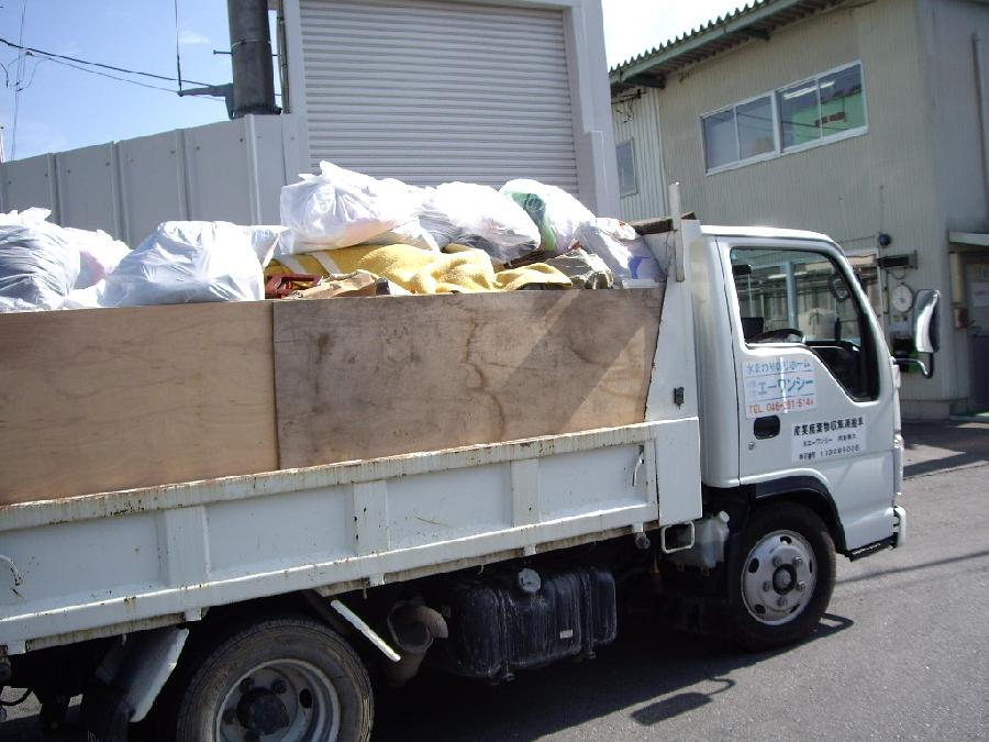 トラック荷物整理