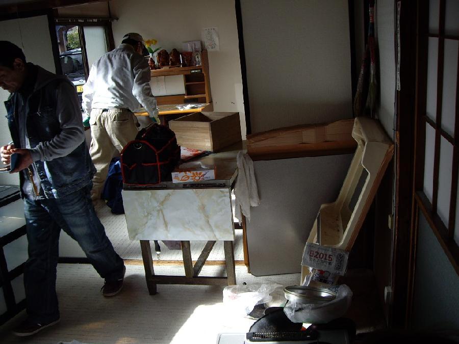 空き家荷物整理