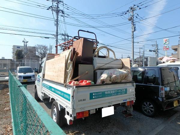 トラック遺品整理