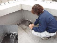 千葉県事務所ビルの排水管洗浄