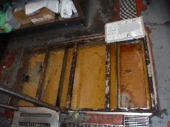 グリストラップ清掃及び配管高圧洗浄作業