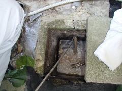 一戸建て住宅の排水管清掃