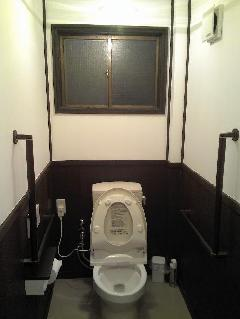 倉敷市 F喫茶店様 トイレの改装リフォーム