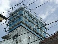 神奈川県相模原市 広告塔改修工事