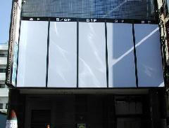 長野県 ビジネスホテル 正面ファサード 案内サイン