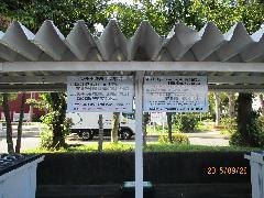 神奈川県横浜市港南区 ゴミ集積所のサイン施工