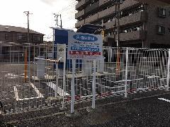 神奈川県大和市 案内自立看板設置工事