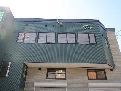 北海道札幌市 壁面パネル、ガラス面シート撤去作業