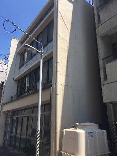 愛知県名古屋市 壁面パネルサイン撤去