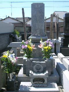 真宗寺 熊谷市 和型 墓石