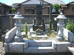 熊谷市 真宗寺 和型 墓石