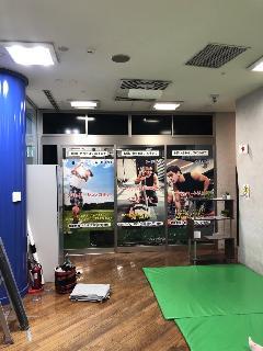 ガラス面のシート施工 東京都渋谷区